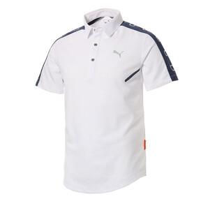 ゴルフ CA ショルダーパネル SSポロシャツ 半袖