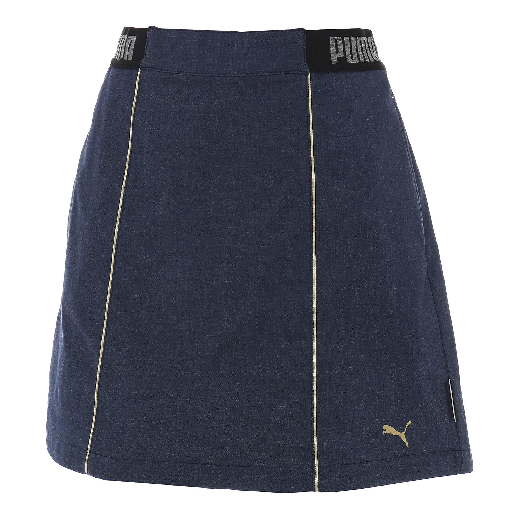 【プーマ公式通販】 プーマ ゴルフ ウィメンズ シャンブレー スカート ウィメンズ Peacoat |PUMA.com