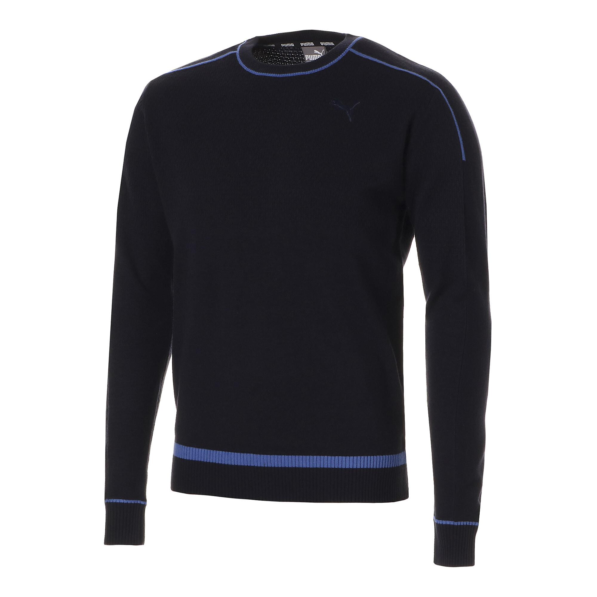 【プーマ公式通販】 プーマ ゴルフ クルーネック セーター メンズ Peacoat |PUMA.com