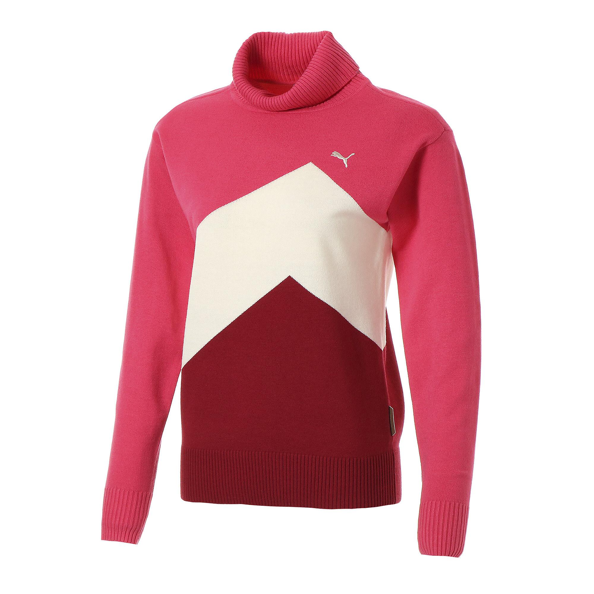 プーマ ゴルフ ウィメンズ カラー ブロック セーター ウィメンズ Azalea |PUMA.com