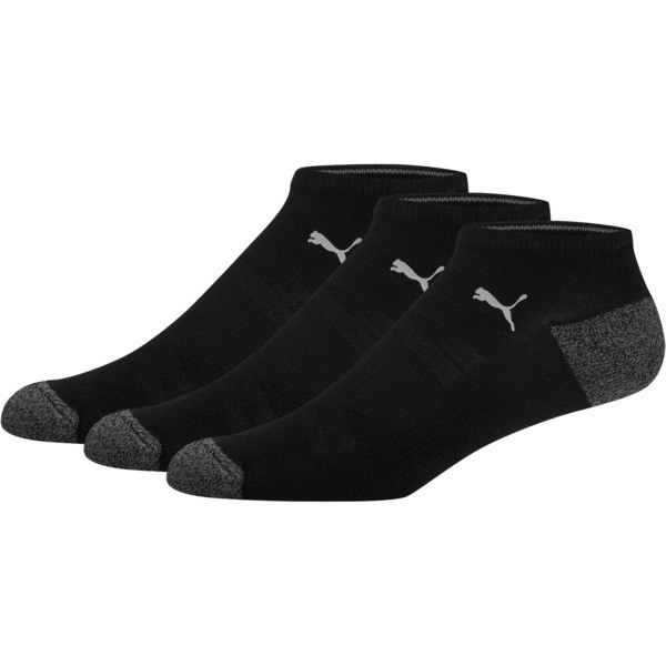 1/2 Terry Men's No Show Socks [3 Pack]