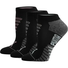 Women's 1/2 Terry Low Cut Socks [3 Pack]