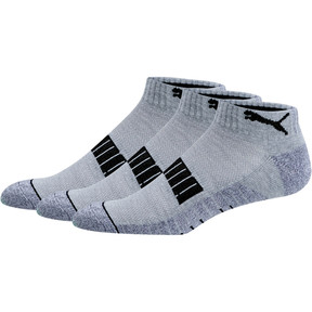 Men's Quarter Crew Socks [3 Pack]