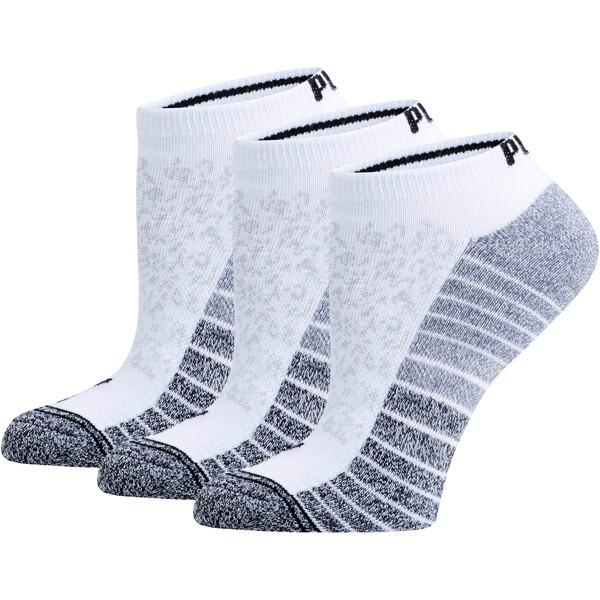 Women's Low Cut Socks [3 Pack], WHITE, large