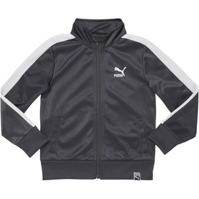 Thumbnail 1 of PRESCHOOL T7 TRACK JACKET, IRON GATE, medium
