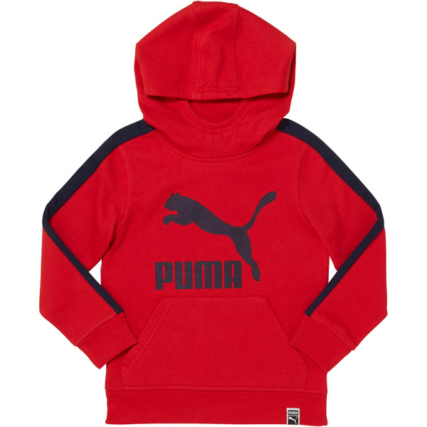 Little Kids' T7 Hoodie, RIBBON RED, large