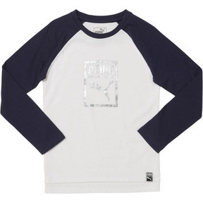 Thumbnail 1 of JERSEY PRESCHOOL TOP, PUMA WHITE, medium