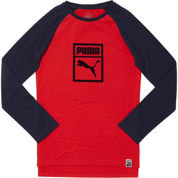JERSEY YOUTH TOP, RIBBON RED, large