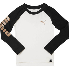 Boy's Colorblock Raglan Top PS