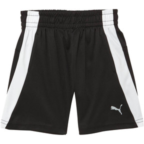 Thumbnail 1 of Toddler Performance Shorts, PUMA BLACK, medium