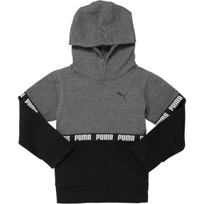 Thumbnail 1 of Boy's Colorblock Hoodie INF, CHARCOAL HEATHER, medium
