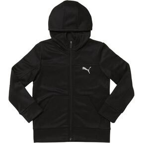 Thumbnail 1 of Fleece Zip Up Hoodie PS, PUMA BLACK, medium