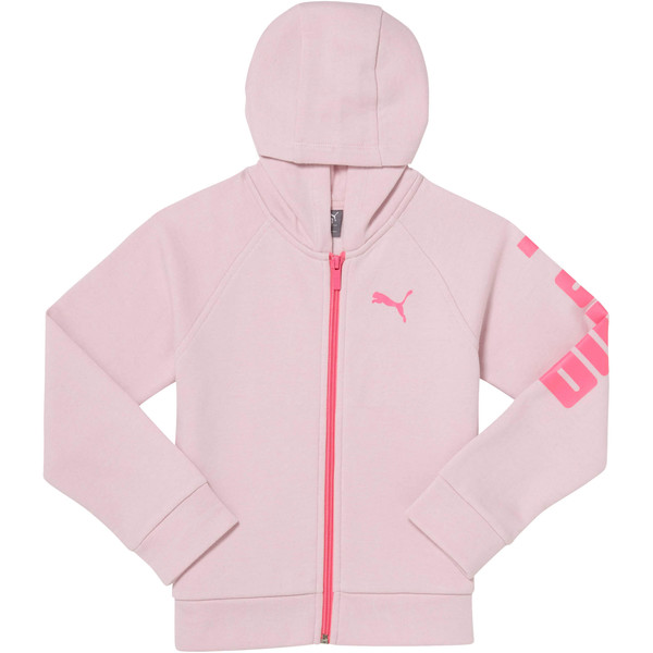 Girls Fleece Hoodie INF, WINSOME ORCHID, large