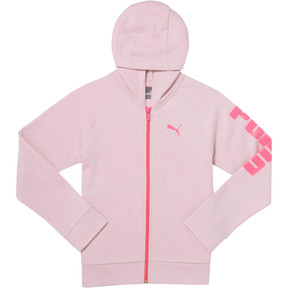 Thumbnail 1 of Girls' Fleece Hoodie JR, WINSOME ORCHID, medium