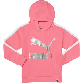 GIRLS T7 OVERSIZED HOODIE PS