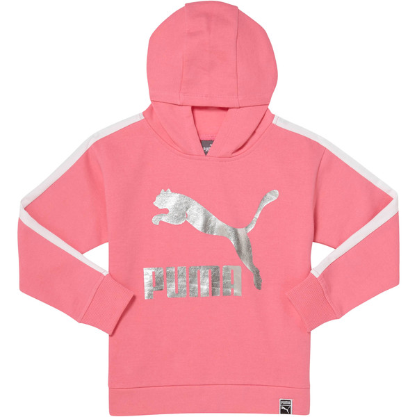 GIRLS T7 OVERSIZED HOODIE PS, 02, large