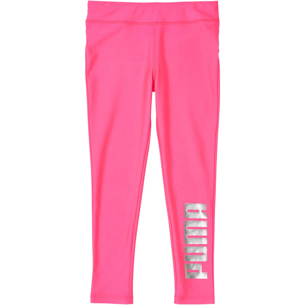 Shiny Leggings PS, KNOCKOUT PINK, large