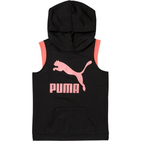 Thumbnail 1 of Girls' Fashion Hoodie JR, PUMA BLACK, medium