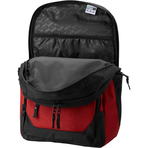 Puma Everready Backpack, Red/Black, large