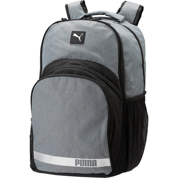 Puma Formation 2.0 Ball Backpack, Grey/Black, large