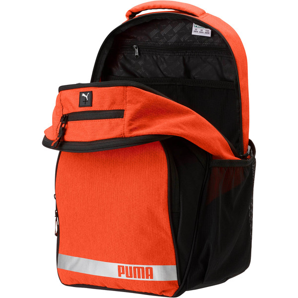 Puma Formation 2.0 Ball Backpack, Orange, large
