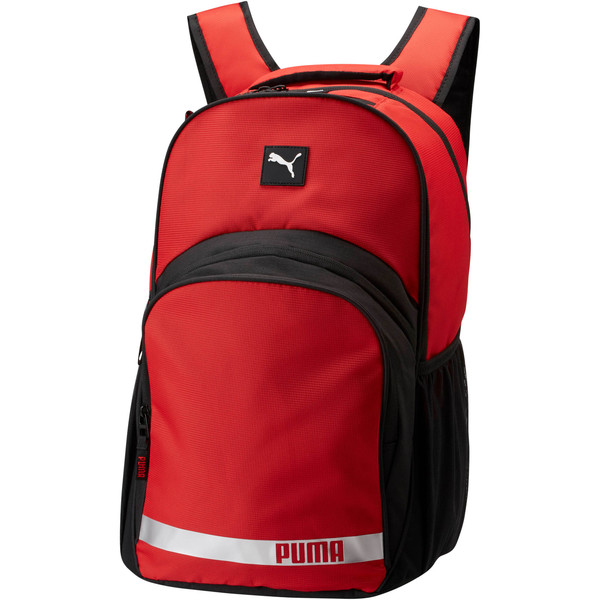 Puma Formation 2.0 Ball Backpack, Medium Red, large