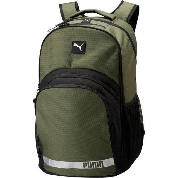 Puma Formation 2.0 Ball Backpack, Olive, large