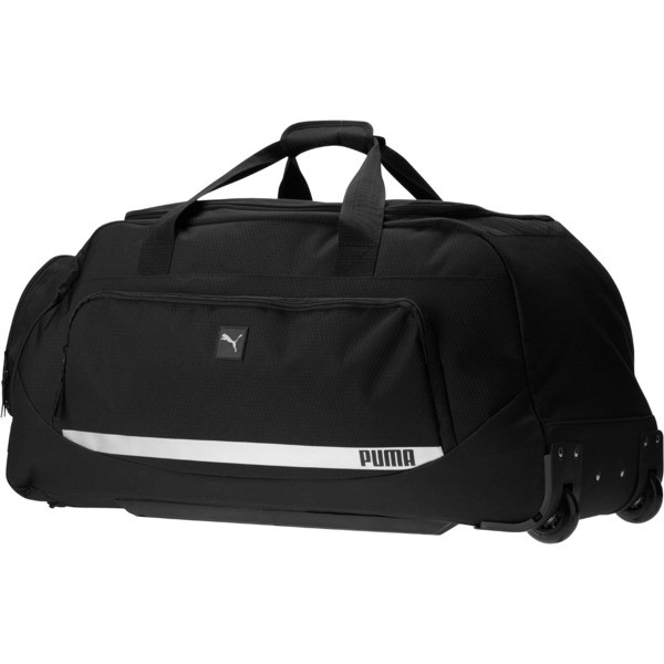 "PUMA Formation 2.0 28"" Rolling Duffel Bag, Black, large"