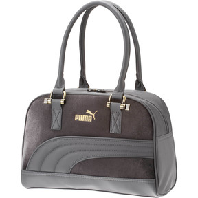 Thumbnail 1 of Puma Velour Grip Bag, DARK GREY, medium