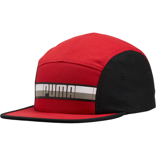 70a3dfb8d03ec7 PUMA Speedway Adjustable Hat, Red/Black, large. ‹ ›