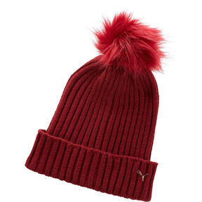 Thumbnail 1 of Women's Venus Pom Beanie, MAROON, medium