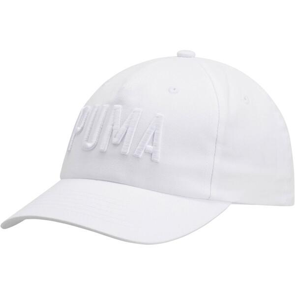 PUMA Classic Dad Cap, White, large