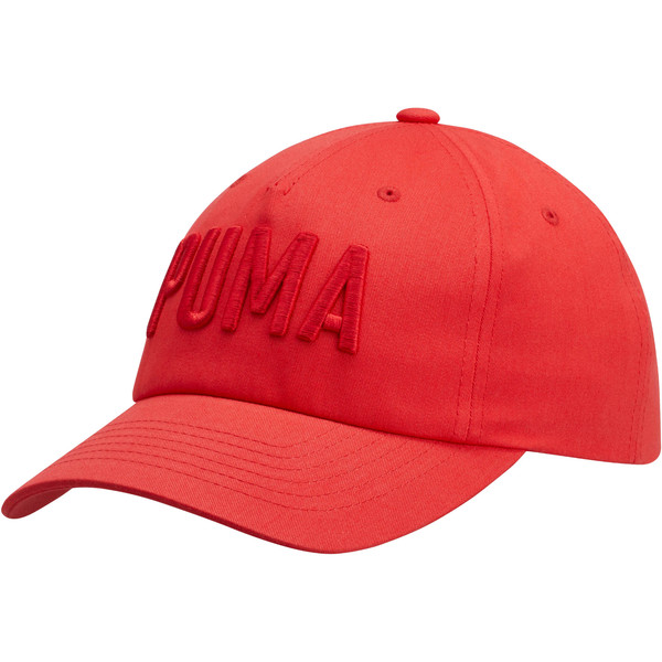 PUMA Classic Dad Cap, Bright Red, large