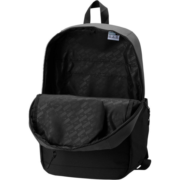 Streak Backpack, Grey/Black, large