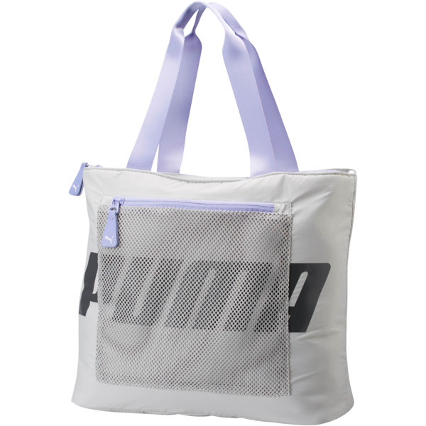 Vicky Tote, Grey/Purple, large
