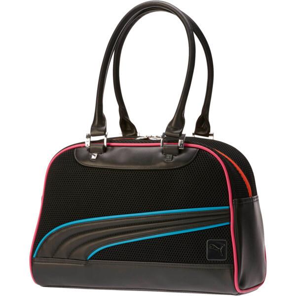 Mesh Grip Bag, Black/Multi, large