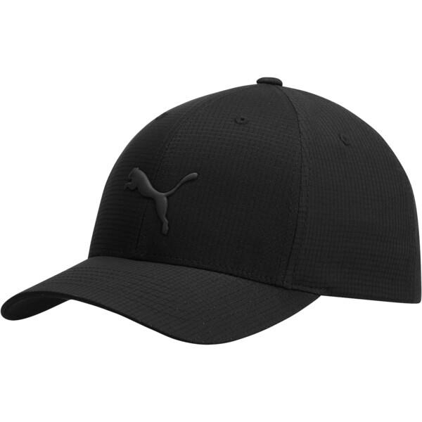 Cubic FLEXFIT Cap, Black, large