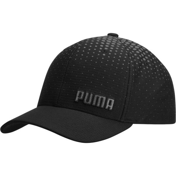 Glacier Performance FLEXFIT Cap, Black, large