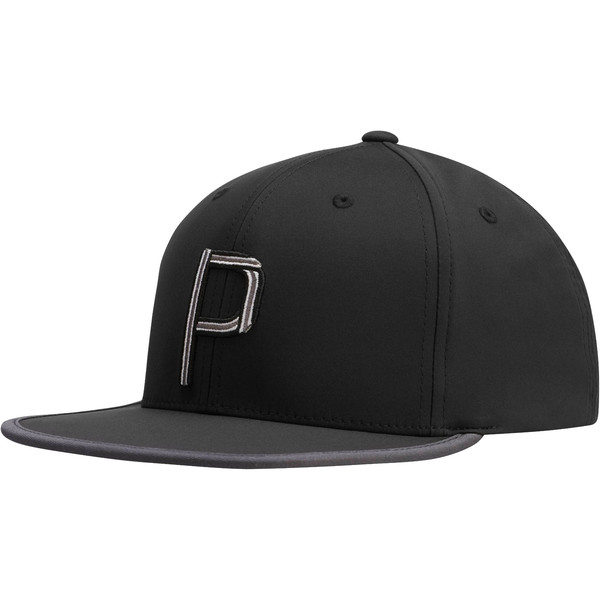 Compound P Snapback, Black, large
