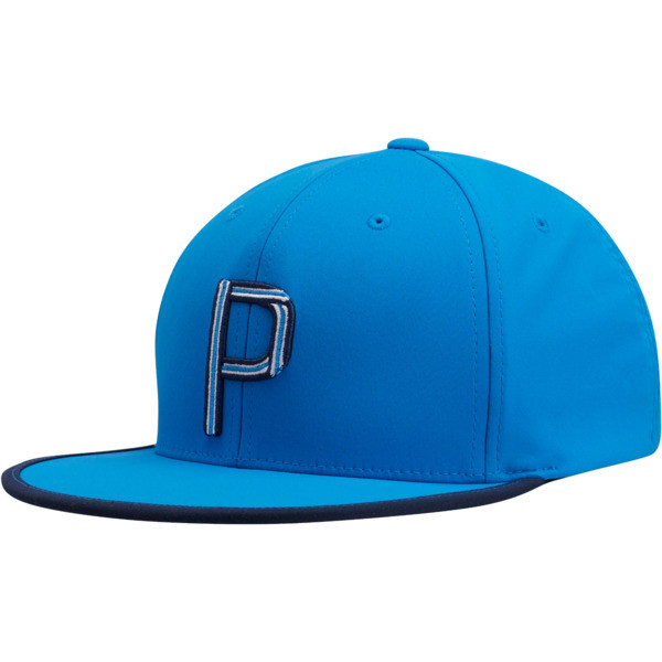 Compound P Snapback, Blue, large