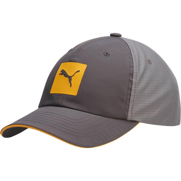 Mesh Runner 2.0 Adjustable Cap, Grey/Orange, large