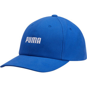 Thumbnail 1 of Emblem Relaxed Fit Adjustable Dad Cap, Blue, medium
