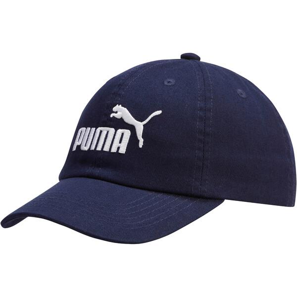 The Daddio Adjustable Cap, NAVY/WHT, large
