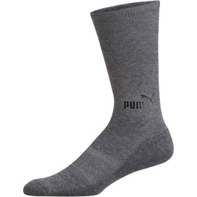 Thumbnail 3 of 1/2 Terry Men's Crew Socks [3 Pack], OLIVE, medium