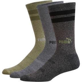 1/2 Terry Men's Crew Socks [3 Pack]