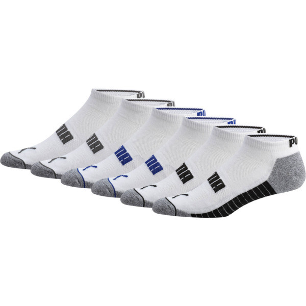 Wordmark 1/2 Terry Men's Low Cut Socks [6 Pack]