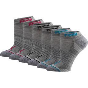 Thumbnail 1 of Women's Low Cut Side Hit Socks [6 Pack], GREY / MULTI, medium