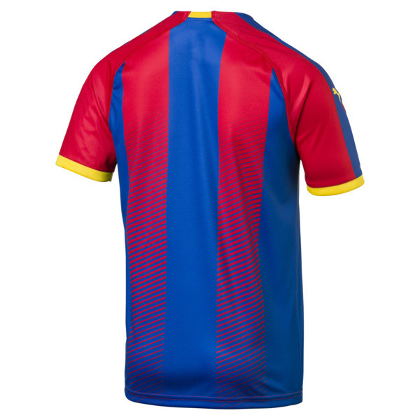 Crystal Palace Herren Replica Heimtrikot, Blue/Red, large