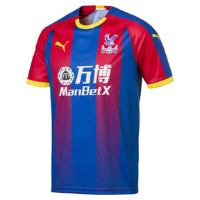 Thumbnail 1 of Maillot Domicile Crystal Palace Replica pour homme, Blue/Red, medium
