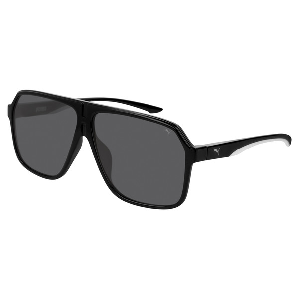 Men's Sunglasses, BLACK-BLACK-SMOKE, large